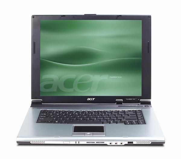 Acer Laptop TravelMate 2304LC, Celeron-M 350 (1.3GHZ, 1MB L2 CACHE), CD-RW/DVD ROM, XPH image