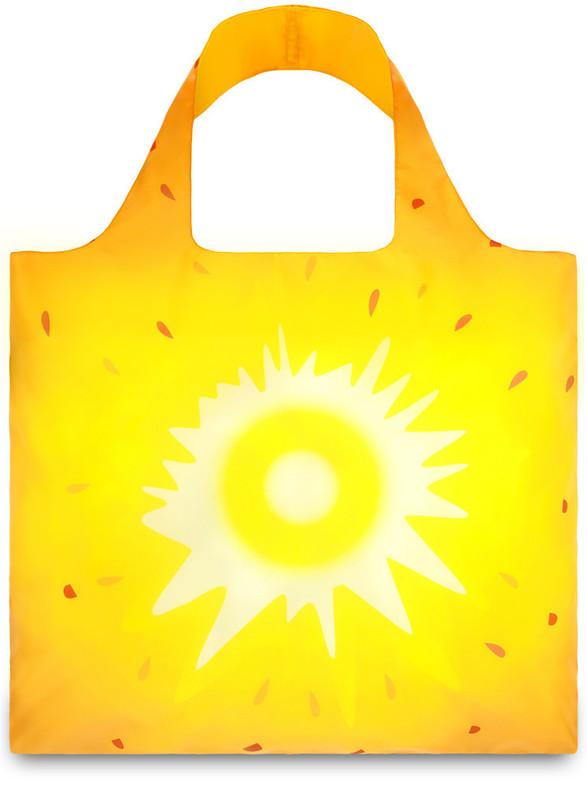 Loqi Shopping Tote Bag - Frutti Pineapple