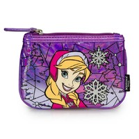Loungefly Frozen Anna Stained Glass Coin Bag