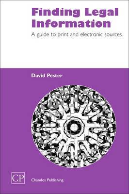 Finding Legal Information by David Pester image