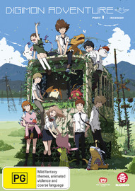 Digimon Adventure Tri. Part 1 - Reunion on DVD