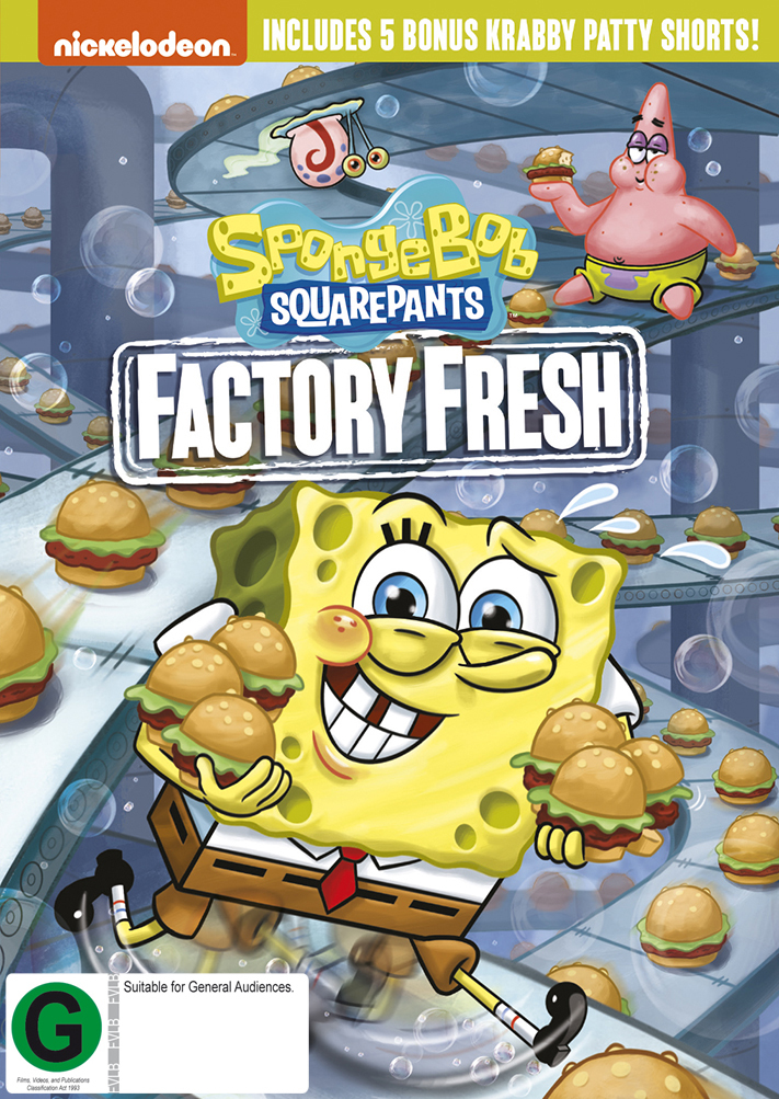 Spongebob Squarepants: Factory Fresh on DVD image