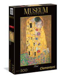 Clementoni Museum: 500-Piece Puzzle - Bacio