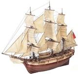 HMS Bounty Wooden Ship 1:48 Model Kit