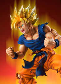 Dragon Ball Kai: Super Saiyan Goku - Chozo Art Collection