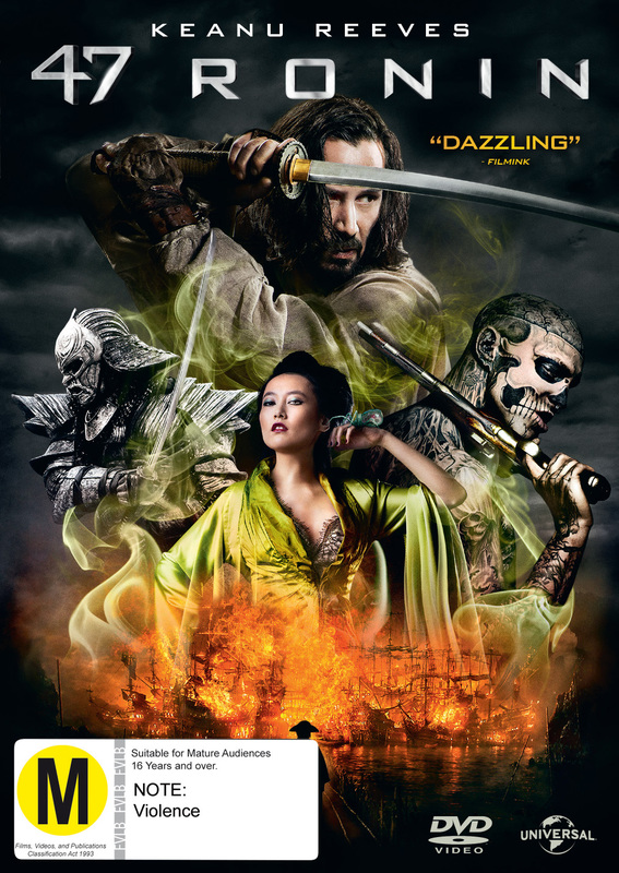 47 Ronin on DVD