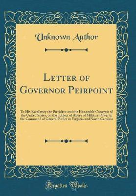 Letter of Governor Peirpoint by Unknown Author