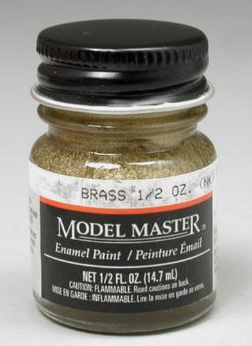 Testors: Enamel Paint - Brass (Flat)