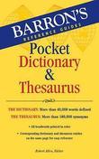 Barron's Pocket Dictionary and Thesaurus by Robert Allen