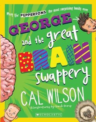George and the Great Brain Swappery by Cal Wilson image
