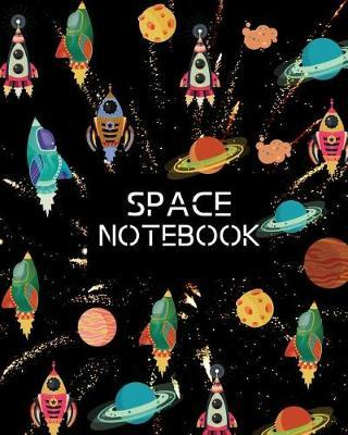 Space Notebook by Kiddo Teacher Prints