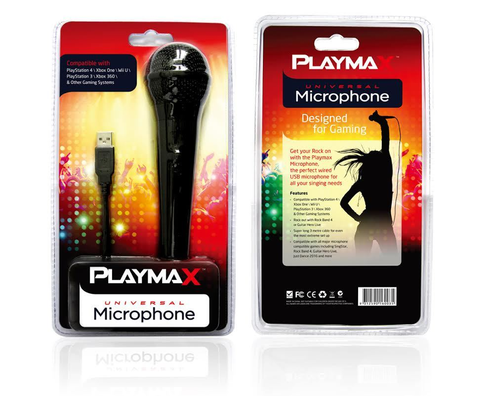 Playmax Microphone - Single for PS4 image
