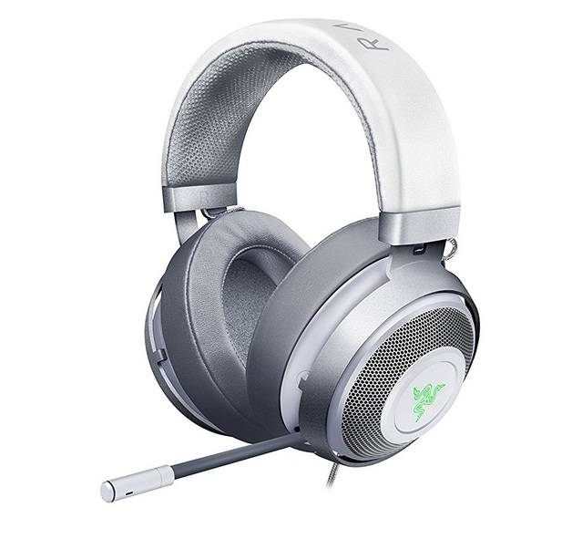 Razer Kraken 7.1 V2 Gaming Headset - Mercury Edition for PC Games