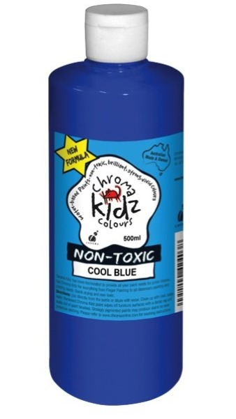 Chroma: Kidz Paint - Cool Blue (500ml)