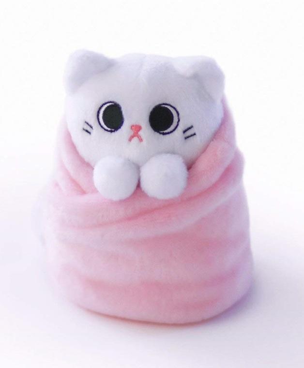 """Purritos: Mochi - 7"""" Plush (Pink)"""