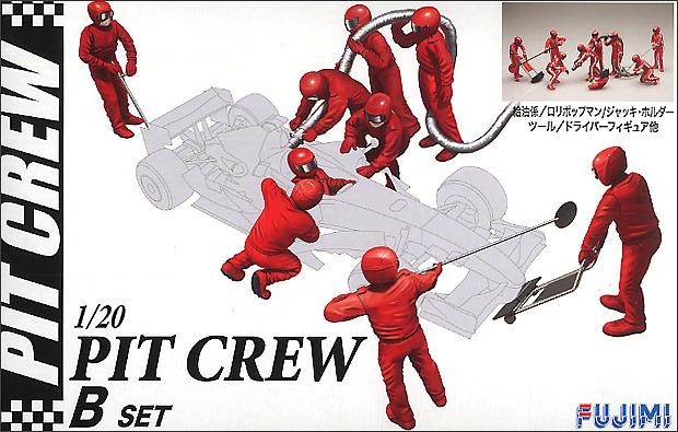 Fujimi: 1/20 Pit Crew Set B - Model Kit
