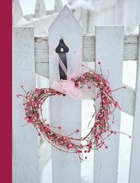 Happy Valentine's Day Heart Wreath by Ahri's Notebooks & Journals