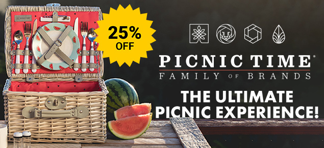 25% off Picnic Time!