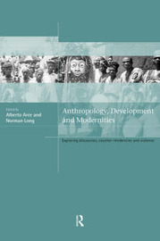 Anthropology, Development and Modernities image