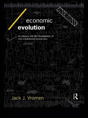 Economic Evolution by Jack J. Vromen image