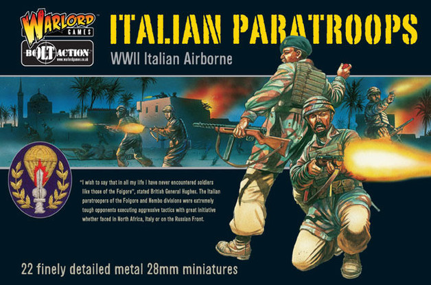 Italian Airborne - Paratroops Box Set