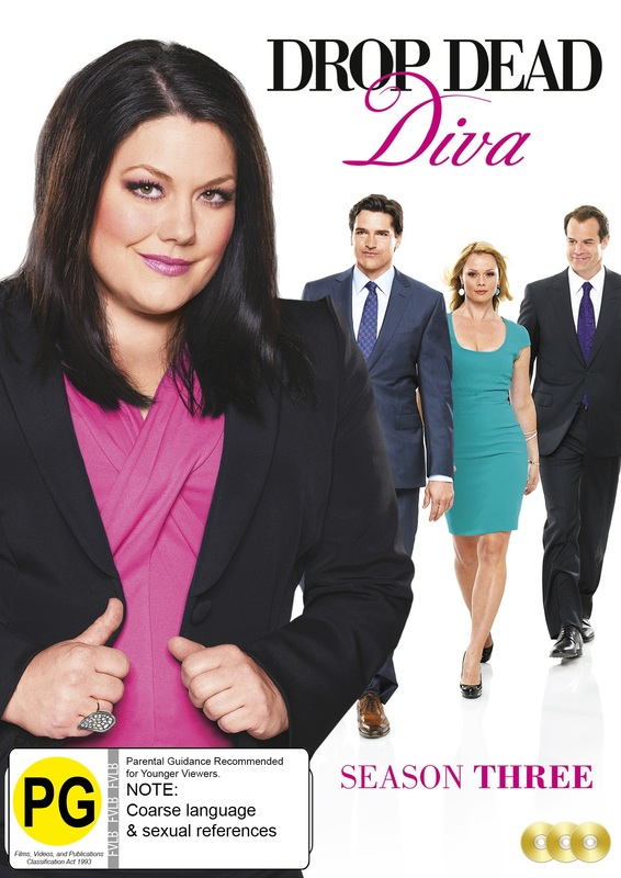 Drop Dead Diva Season 3 on DVD