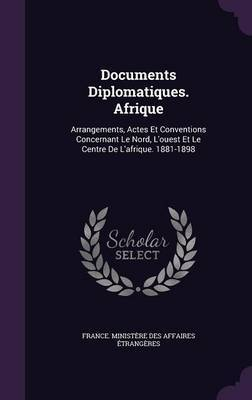 Documents Diplomatiques. Afrique image