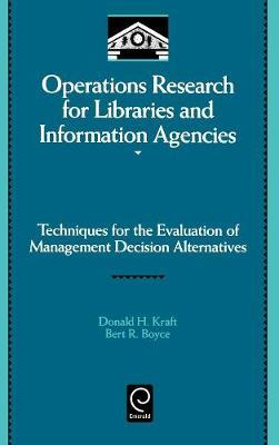 Operations Research for Libraries and Information Agencies image