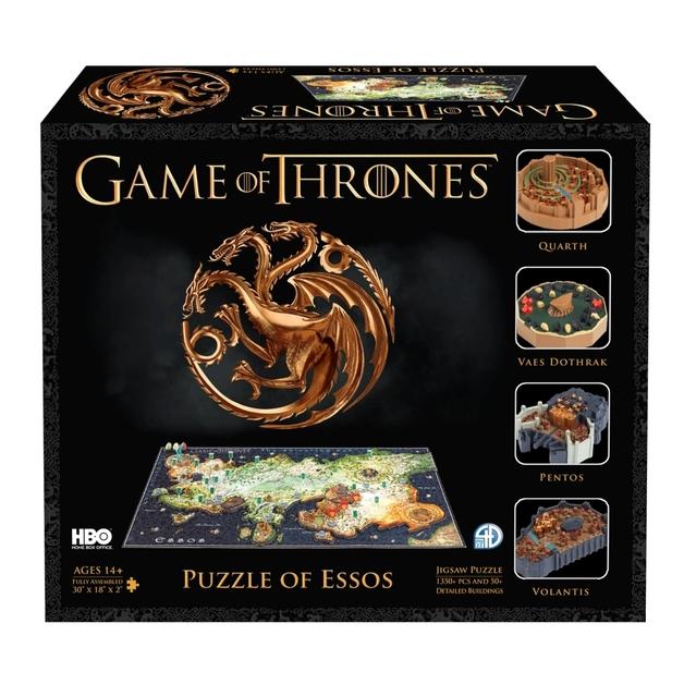 Game of Thrones: Essos - 4D Cityscape Puzzle (1400pc)