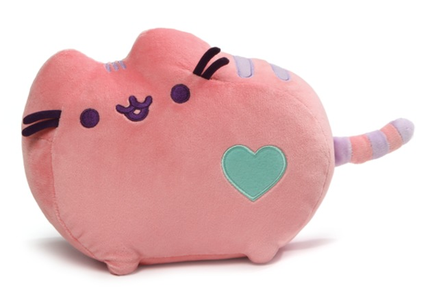 Pusheen the Cat: Pink Pastel - Heart Plush