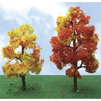 JTT: HO Scale - Autumn Sycamore (2 Pack)