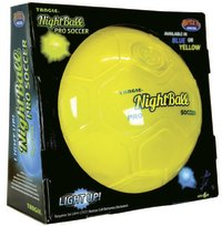 Britz 'n Pieces: NightBall Pro Soccer Ball - Yellow
