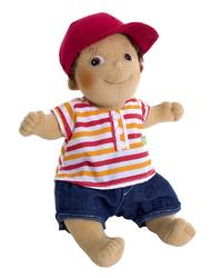 "Rubens Barn: Kids Tim - 14"" Plush Doll"