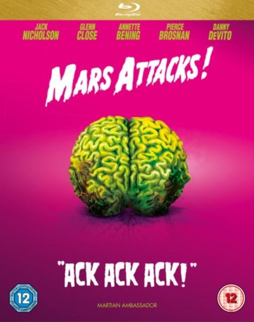 Mars Attacks on Blu-ray image
