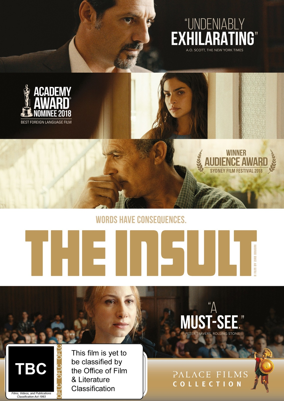 The Insult on DVD image