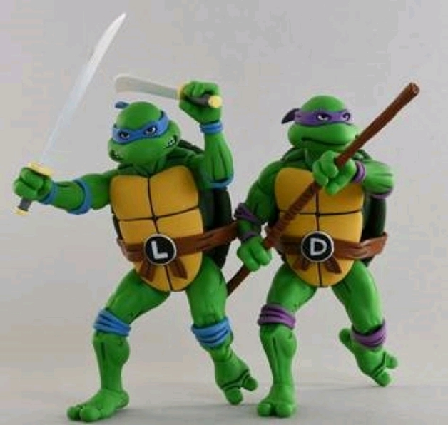TMNT: Action Figure 2-Pack - Leonardo & Donatello