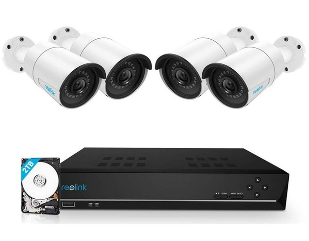 Reolink 8CH 5MP PoE Home Security Camera System