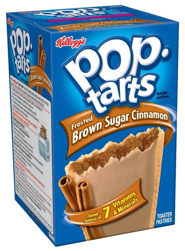 Kellogg's Pop Tarts Frosted Brown Sugar Cinnamon (6 Pack)