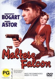 The Maltese Falcon on DVD image
