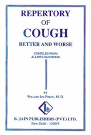 Repertory of Cough: Better and Worse by W.I. Pierce image