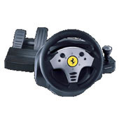 Ferrari Force Feedback GT Racing Wheel