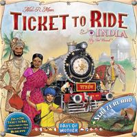 Ticket To Ride: India Expansion image