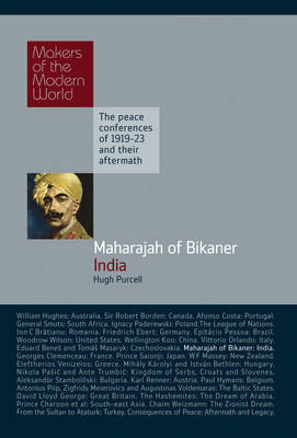 The Maharajah of Bikaner by Hugh Purcell image