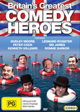 Britain's Greatest Comedy Heroes on DVD