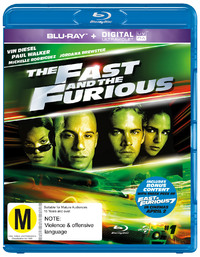 The Fast And The Furious on Blu-ray