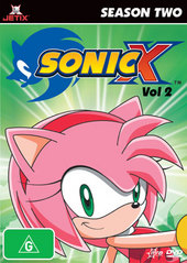 Sonic X - Season 2: Vol. 2 on DVD