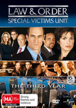 Law & Order - Special Victims Unit: Year 3 (6 Disc Set) on DVD