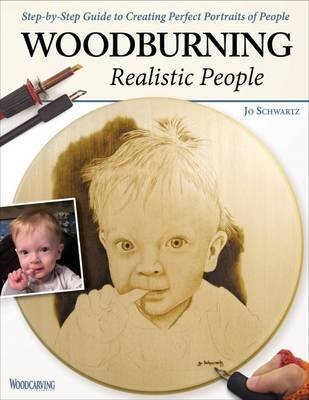 Woodburning Realistic People by Jo Schwartz