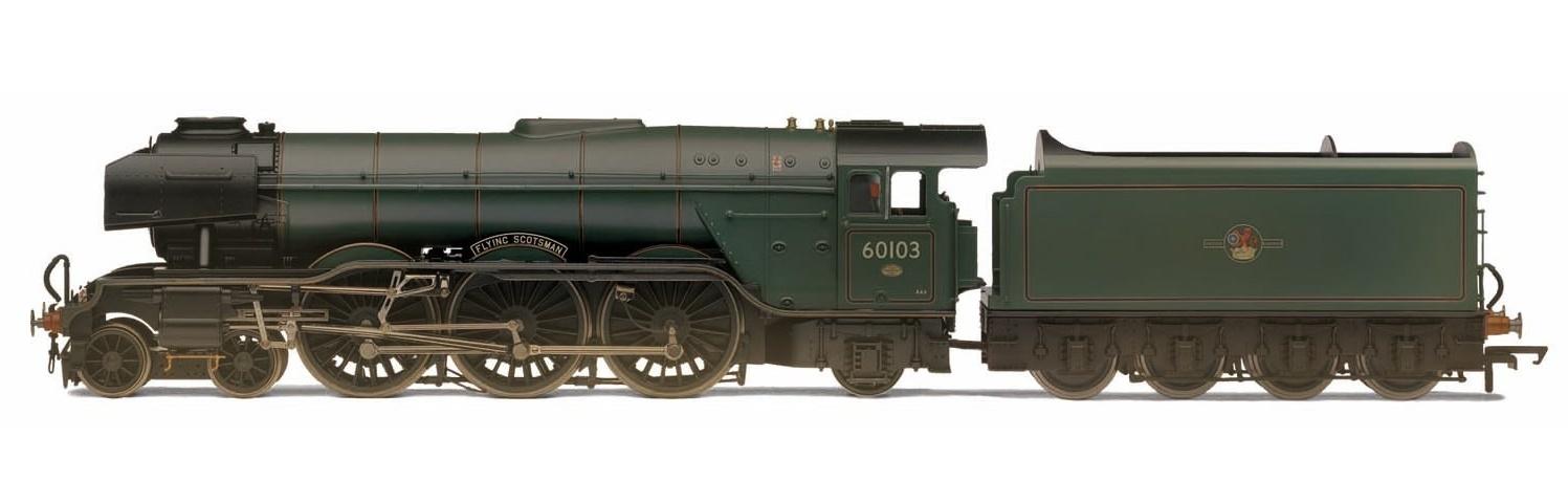 "Hornby: BR 4-6-2 60103 A3 Class, Brunswick Green ""Flying Scotsman"" image"