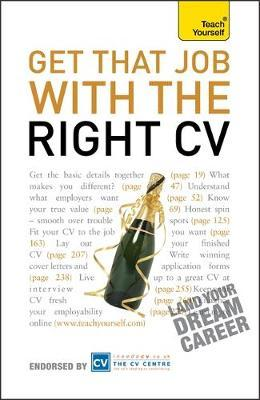 Get That Job With The Right CV by Julie Gray image